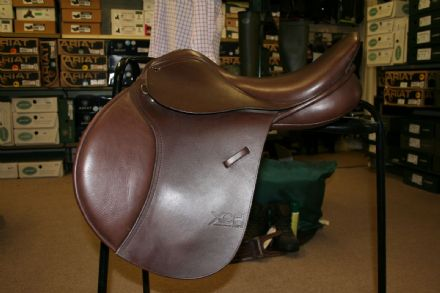 "17.5"" XCH VSJ Saddle GFS S335 Brown Changeable Gullet Ex-Display"